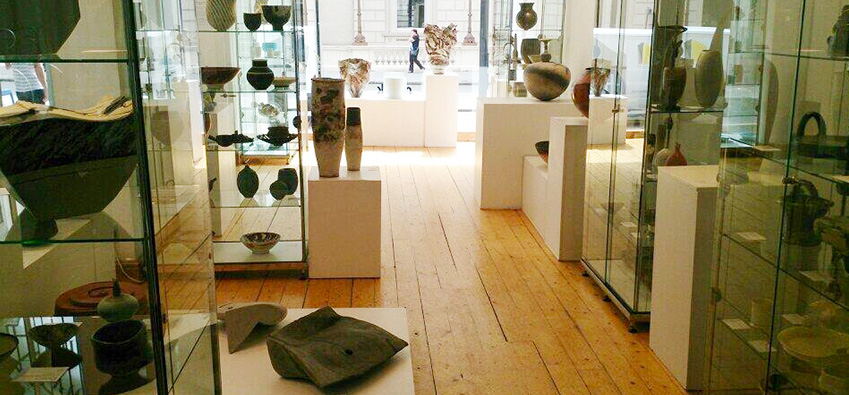 Maac's Ceramics Showroom in London