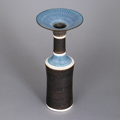 Cylindrical Vase with flared rim, circa 1970