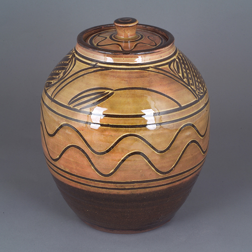 Lidded Jar, circa 1938