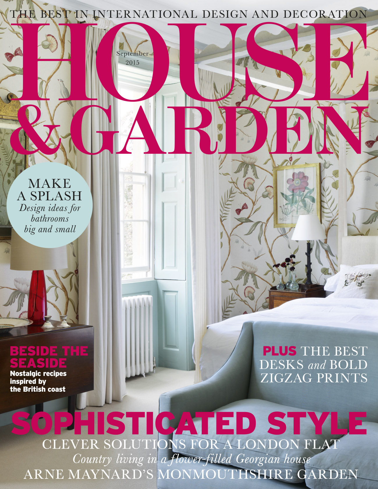 Maak Feature in House and Garden Magazine