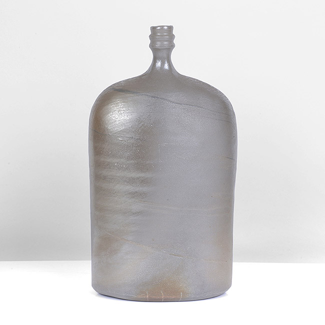 'Flattened Bottle with Ringed Neck', circa 1982