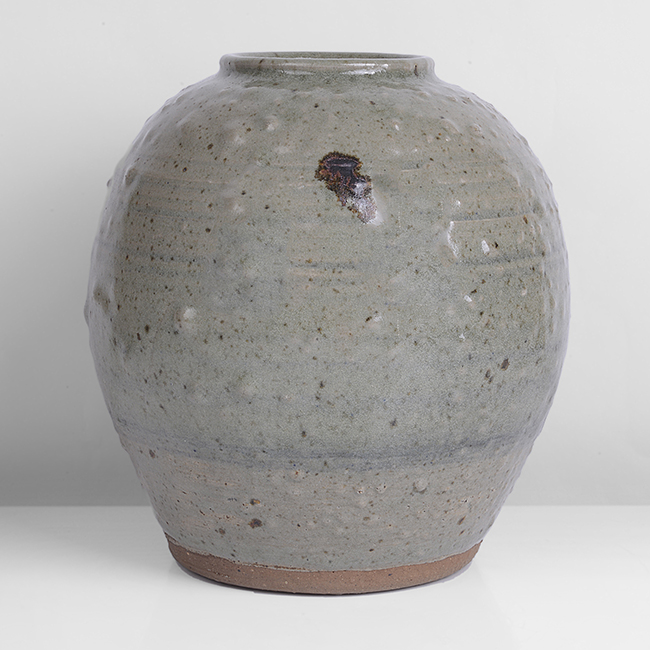 Large Globular Jar