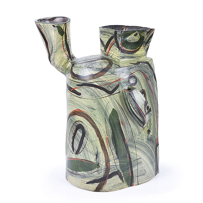 Large Abstracted Jug Form, 1998