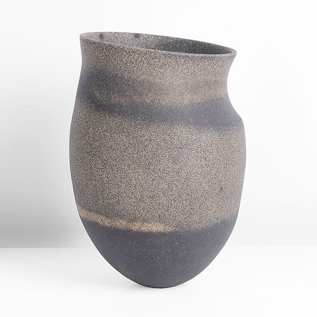 'Small Angled Pot with Dark Spots', circa 1984